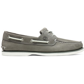Timberland Classic 2-Eye Boat Shoes Men medium grey nubuck